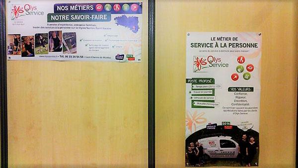 Olys Service au forum des métiers à Savenay