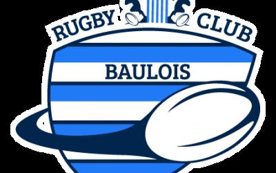 Mise en place d'un partenariat auprès du Rugby Club Baulois