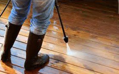 C'est le moment idéal pour nettoyer votre terrasse après l'été!